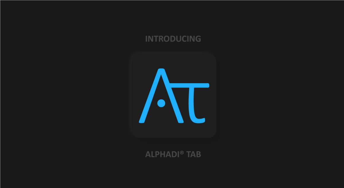 AlphadiTab® - 11