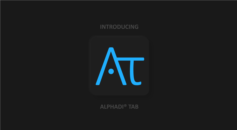 AlphadiTab® - 1